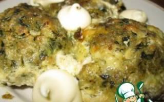 Котлетки паровые из лосося со шпинатом — рыбные рецепты