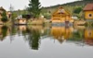 Зона отдыха «Тихая Заводь» — место для рыбалки