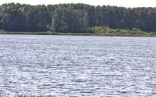 Пороховое озеро — место для рыбака