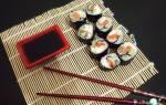 Роллы с угрём — рыбные рецепты