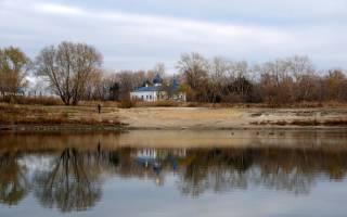 Девичьи слезы пруд — место для рыбака