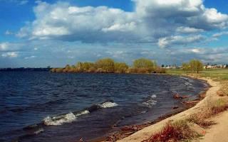 Шершнёвское водохранилище — место для рыбака