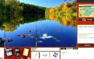 Жёлтое озеро — место для рыбалки