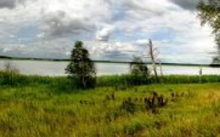 Оленьчево озеро — место для рыбака