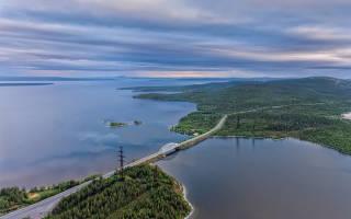Озеро Имандра — место для рыбака