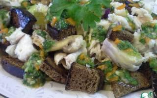 Салат из судака — рыбные рецепты