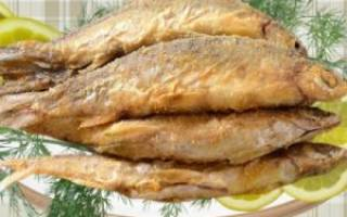 Жареная ряпушка «Хрустящая» — рыбные рецепты