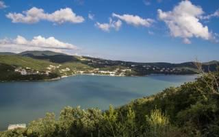 Абрау озеро — место для рыбака