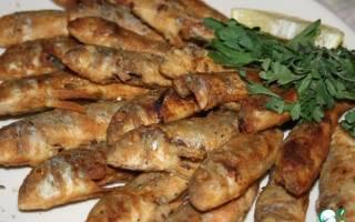 Жареная барабулька (Barbunya tava) — рыбные рецепты