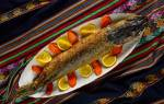 Рыба фиш по-еврейски — рыбные рецепты