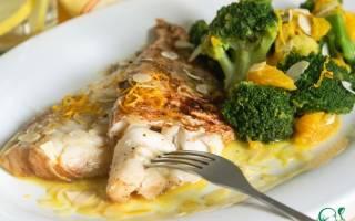 Окунь с апельсином — рыбные рецепты
