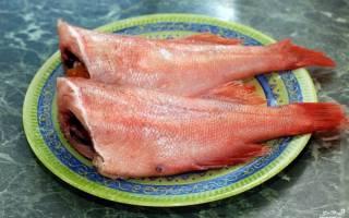 Окунь, запечённый в фольге — рыбные рецепты