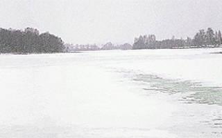 Пальна — место для рыбака