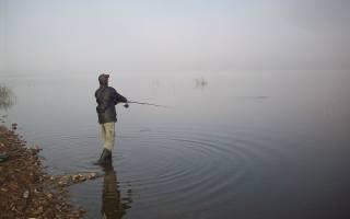 Уфа — место для рыбака