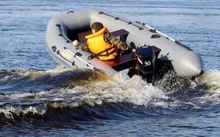 Скорость надувных лодок
