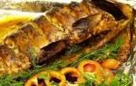 Карп в фольге с картошкой — рыбные рецепты