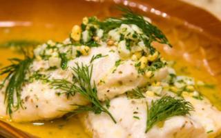 Судак отварной — рыбные рецепты