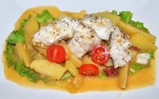 Тушёная форель — рыбные рецепты