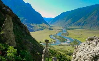 Кокса (Республика Алтай) — место для рыбака