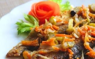 Ряпушка под маринадом — рыбные рецепты