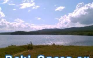 Сугомак озеро — место для рыбака