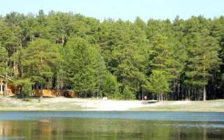 Песчаное озеро (Томская область) — место для рыбака