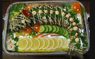 Пеленгас, запечённый в сметане — рыбные рецепты