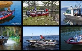 Катера для рыбалки и отдыха