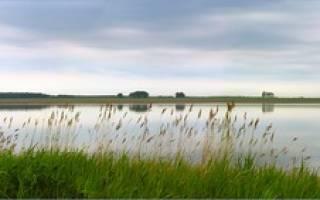 Карачи озеро — место для рыбака