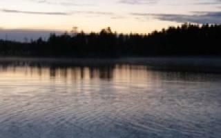 Озеро Нижнее Куйто — место для рыбака