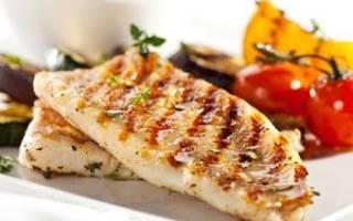 Треска на мангале — рыбные рецепты