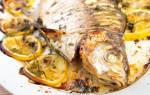 Карась в духовке в фольге — рыбные рецепты