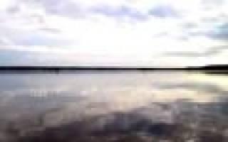 Гимольское озеро — место для рыбака