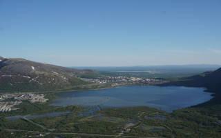 Озеро Большой Вудъявр — место для рыбака