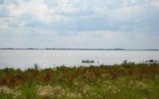 Ачикуль озеро — место для рыбака