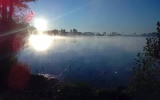Чёрное озеро (Пензенская область) — место для рыбака