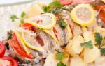 Плотва, запечённая в духовке — рыбные рецепты