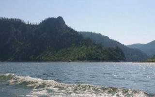 Бирюса — место для рыбака