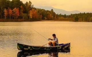 Унеча — место для рыбака