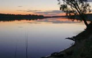 Сарала — место для рыбака