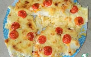 Треска с сыром — рыбные рецепты