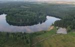 Озеро Ожогино — место для рыбака