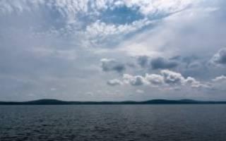 Большое Миассово озеро — место для рыбака