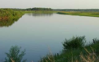 Сосьва — место для рыбака