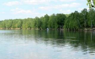 Минзелинское озеро — место для рыбака