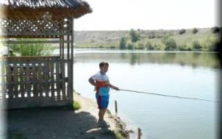 Пынсур — место для рыбака