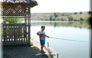 Крячек озеро — место для рыбака
