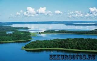 Польское озеро — место для рыбака