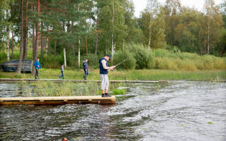 Сасовка — место для рыбака