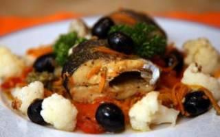 Форель, запечённая с овощами — рыбные рецепты
